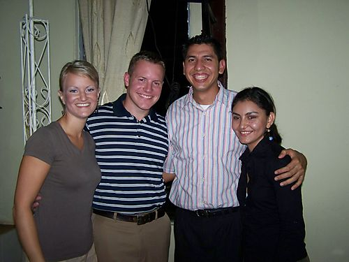 Katie, Tim, Moises, & Pretty Wife