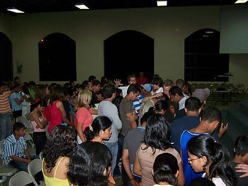 Youth Service - Prayer
